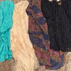 4 bathing suit cover ups